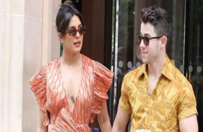 Watch: Priyanka Chopra almost falls off a yacht, Nick Jonas comes to her rescue