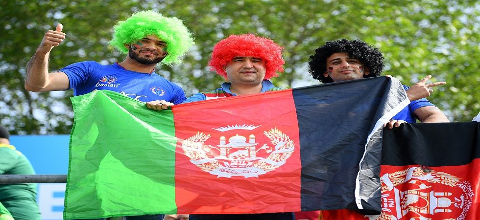 Afghanistan and Pakistan fans clashed in the ICC Cricket World Cup 2019 enconter in Leeds after a plane was flown which had Balochistan slogans. (Image credit: Getty Images)