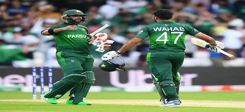 Pakistan team is now just one win away to make it to semi-finals (Image Credit: Getty)