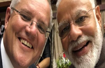 G20 Osaka Summit: Australian PM Scott Morrison's selfie with Narendra Modi has sweetest caption