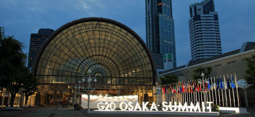 Emphasising the need to improve the functioning of the WTO, the G20 members decided to work constructively with other trade body members in the run-up to the 12th WTO Ministerial Conference. (G20 Japan/Twitter)
