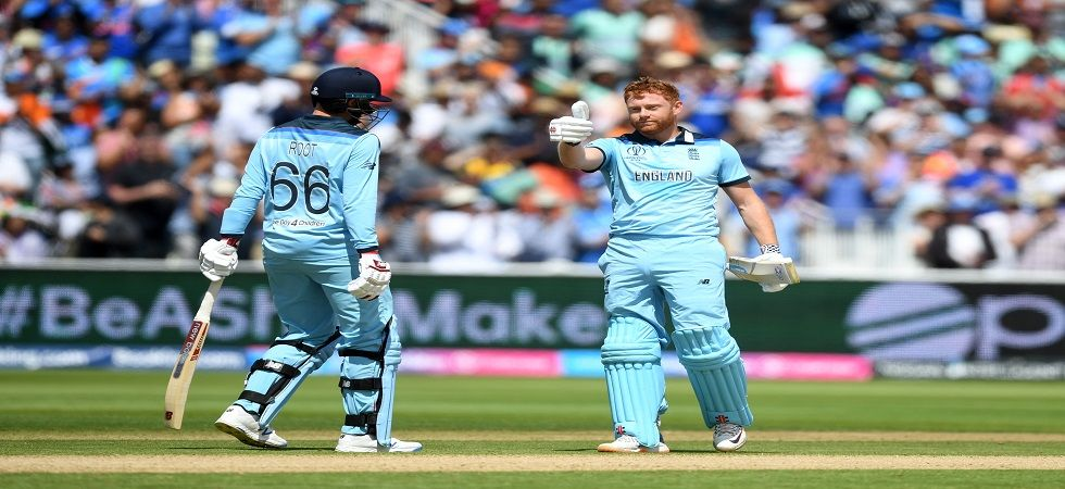 Jonny Bairstow registered his maiden World Cup century as England won by 31 runs which was their first victory against India after 27 years. (Image credit: Getty Images)