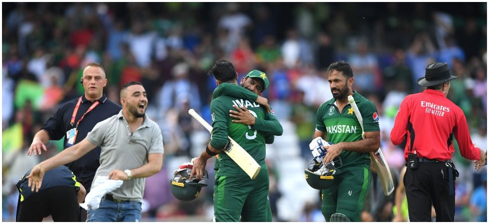 Pakistan are in the hunt for the semi-final after beating Afghanistan by three wickets and the pressure is on England to avoid a slip-up against India and New Zealand. (Image credit: Getty Images)