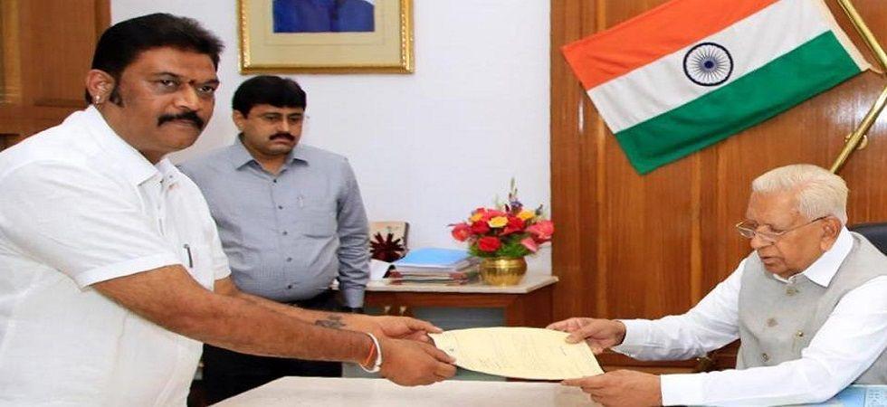 Congress MLA from Vijayanagar Anand Singh