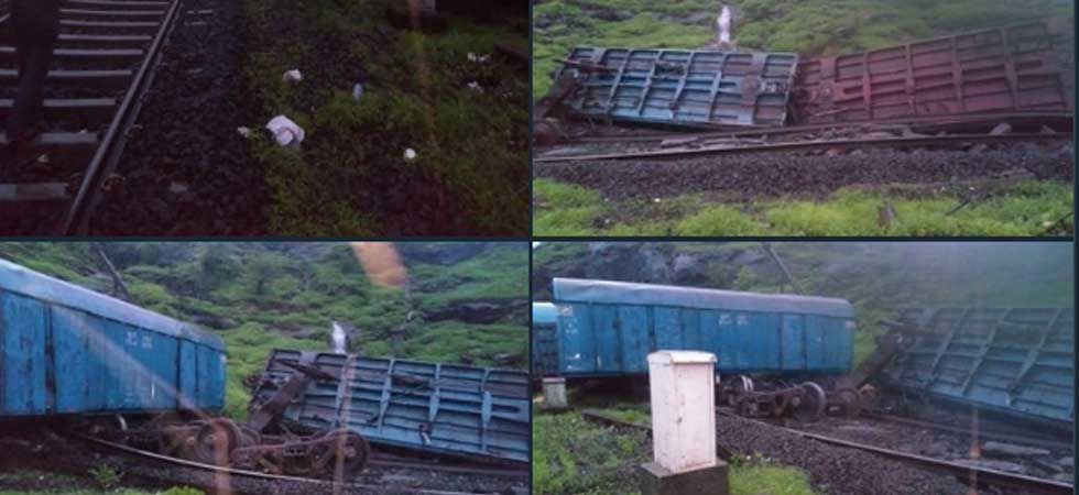 Fifteen wagons of the train between Mumbai and Pune derailed around 4.15  am.