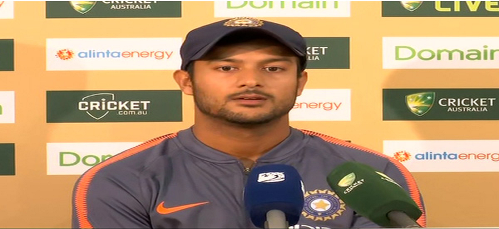 Mayank Agarwal has been approved by ICC as a replacement for Vijay Shankar in India cricket team World Cup squad and could play against Bangladesh on Tuesday. (Image credit: ANI Twitter)