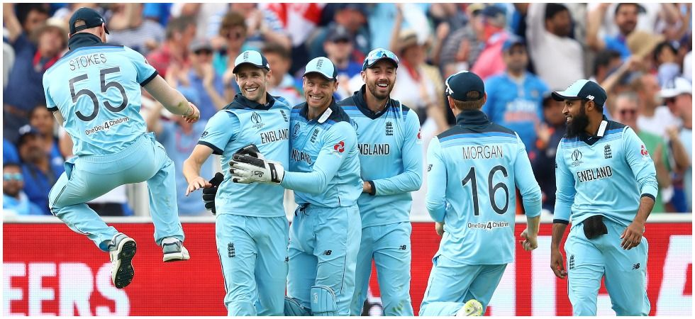 England are in the race for the play-offs after winning against India for the first time in a World Cup after 27 years. (Image credit: Getty Images)
