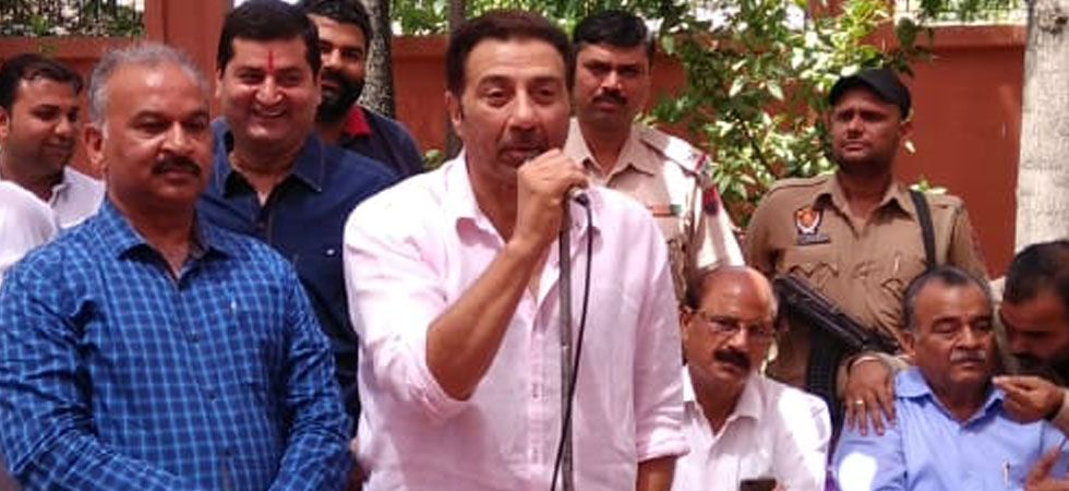 MP Sunny Deol said that controversy is being created out of nothing at all. (Image Credit: Twitter)