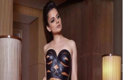 Kangana Ranaut 'channels inner Kinky queen-meets-bondage goddess' in BOLD leather strap ensemble
