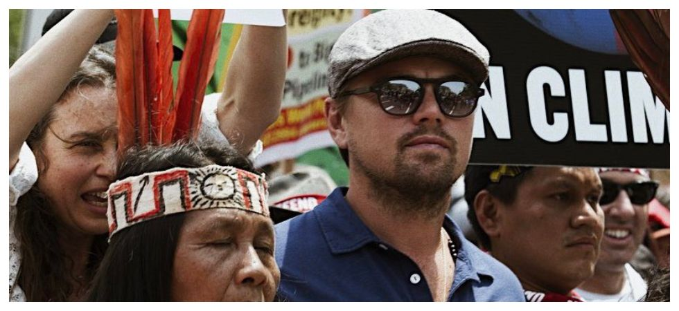 Leonardo DiCaprio teams up with new alliance to battle climate change (Photo: Twitter)
