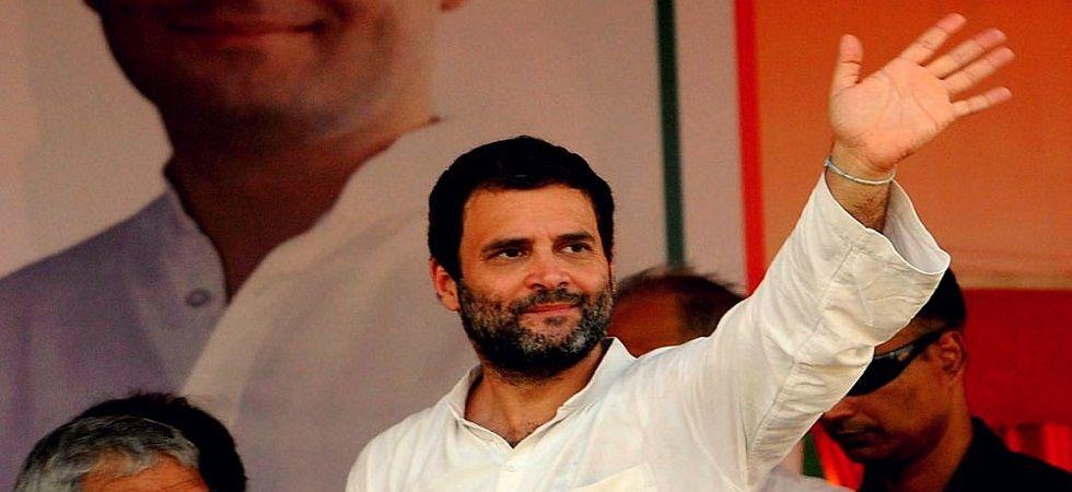 Outgoing Congress president Rahul Gandhi