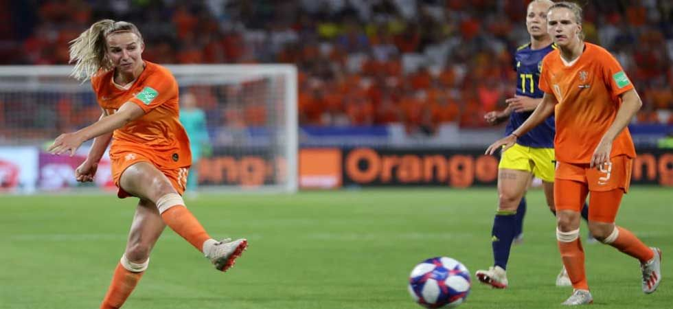 For Netherlands, Jackie Groenen was the unlikely heroine. (Photo: Twitter/@FIFA)