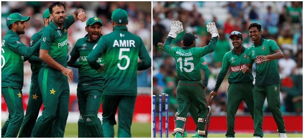 Pakistan secured a 94-run win against Bangladesh to end their World Cup campaign on a high. (Image Credit: Twitter)