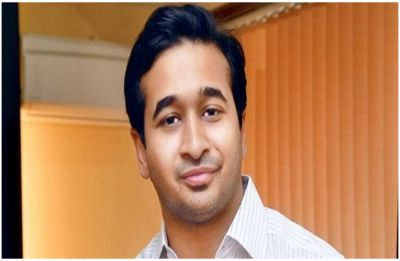 Shocking! Congress MLA Nitesh Rane throws mud on engineer at Mumbai-Goa Highway