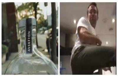 WATCH: Deadpool star Ryan Reynolds FAILS miserably at Bottle Cap Challenge