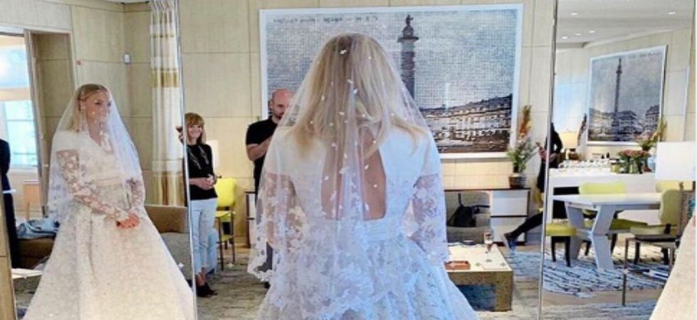 In PICS: Sophie Turner and Joe Jonas looked every bit regal as bride and groom