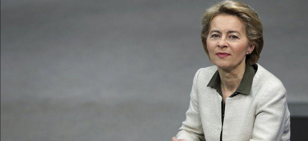 EU president-elect Ursula von der Leyen