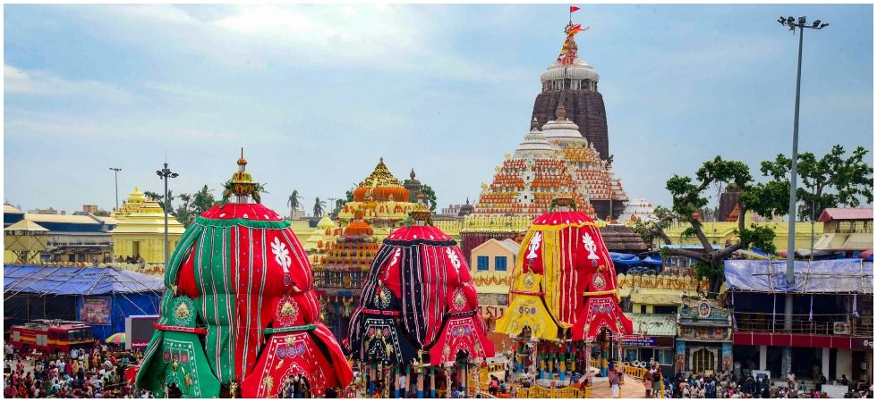 The three chariots are named Nandighosha, Taladhwaja and Darpadalana (Photo credit: PTI)