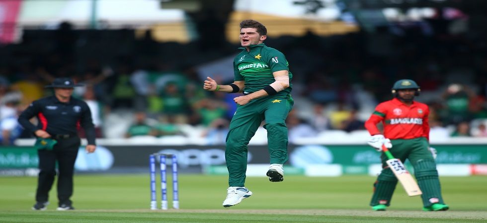Shaheen Afridi took the best haul by a Pakistan bowler in World Cups as they defeated Bangladesh by 94 runs but failed to qualify for the ICC Cricket World Cup 2019 semi-final. (Image credit: Getty Images)