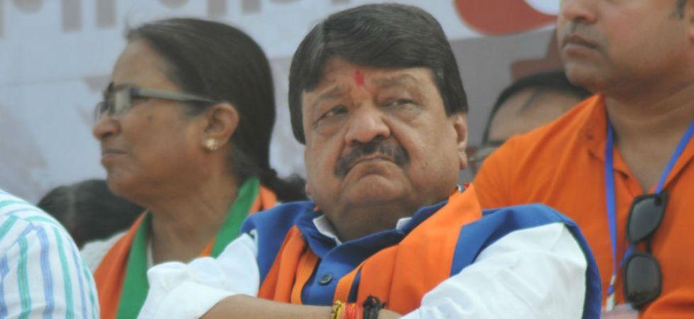 Kailash Vijayvargiya had said both his son and the civic administration were