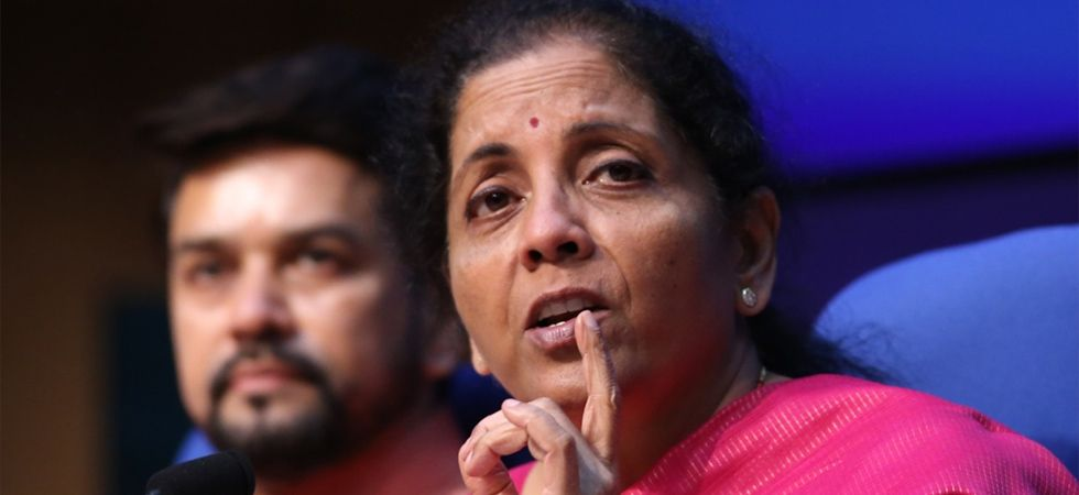 Stating that 'annadata' can also be 'urjadata', Finance Minister Nirmala Sitharaman said that dairying through cooperatives should also be encouraged. (Image Credit: IANS)
