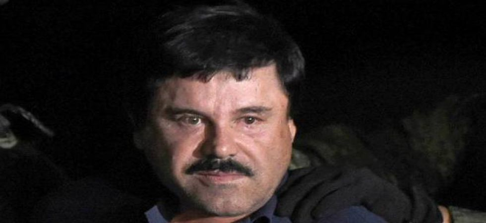 Joaquin 'El Chapo' Guzman was found guilty in February following a three-month trial for trafficking hundreds of tons of cocaine, heroin, methamphetamines and marijuana to the United States over the course of 25 years. (File Photo)