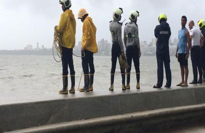 2 drown at Marine Drive, one body recovered; rescue operation underway