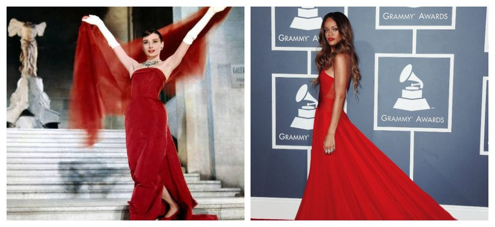 Some of the most iconic red-dresses of all time (Photo: Twitter)
