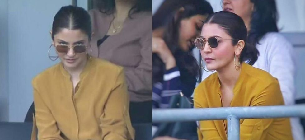 Anushka Sharma at Ind vs Sri Lanka World Cup Match. (Image: Instagram)