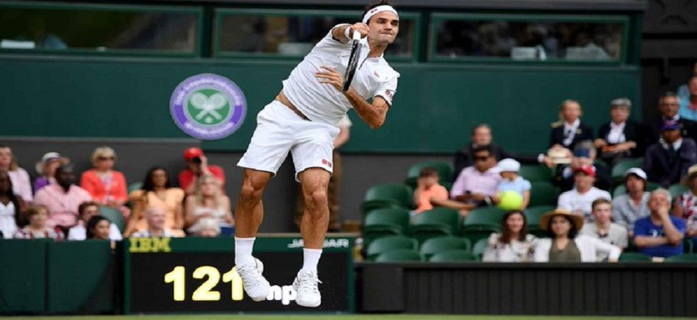 Roger Federer will play Matteo Berrettini of Italy in the fourth round as he bids for an unprecedented ninth Wimbledon title. (Image credit: ATP Tour Twitter)