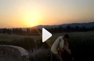 In Video: Priyanka Chopra twirling and falling into Nick's arms before setting sun