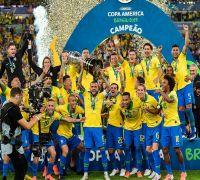 Brazil beat Peru to clinch Copa America 2019, Gabriel Jesus sent off