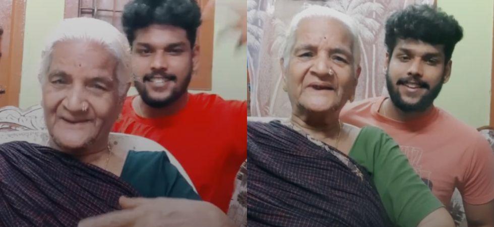 This Tik Tok video of grandma-grandson has taken the internet by storm.