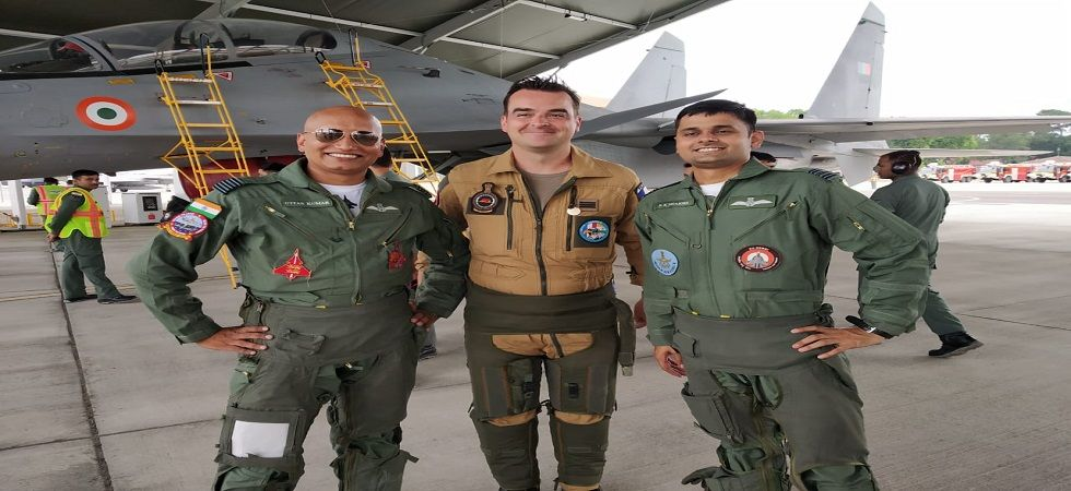 The Indian Air Force contingent comprises 120 air-warriors and four Sukhoi 30 MKI along with an IL-78 flight refuelling aircraft, according to the IAF.  (Twitter)