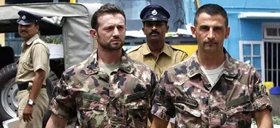 Italian marines Massimiliano Latorre and Salvatore Girone were charged in India with the killings of 2 fishermen in 2012. (PTI Photo)