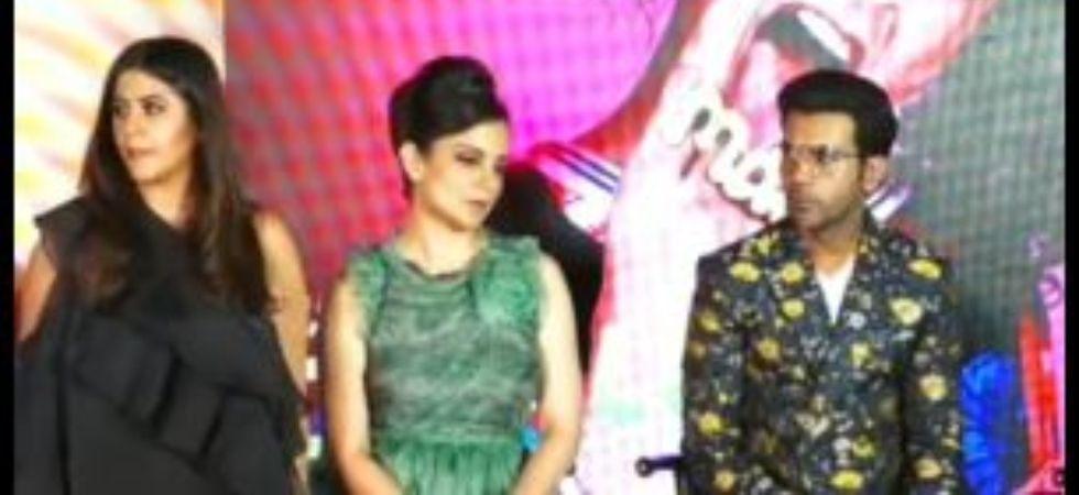 Kangana Ranaut blasts journalist at song launch event of Judgementall Hai Kya