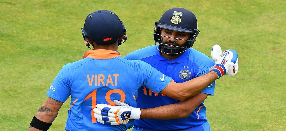 Rohit Sharma has surged in the latest ICC rankings for ODI batsmen, closing the gap with Virat Kohli for top spot. (Image credit: Getty Images)