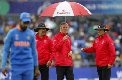 India vs New Zealand Semifinal, ICC World Cup: Play to resume tomorrow as rain plays havoc