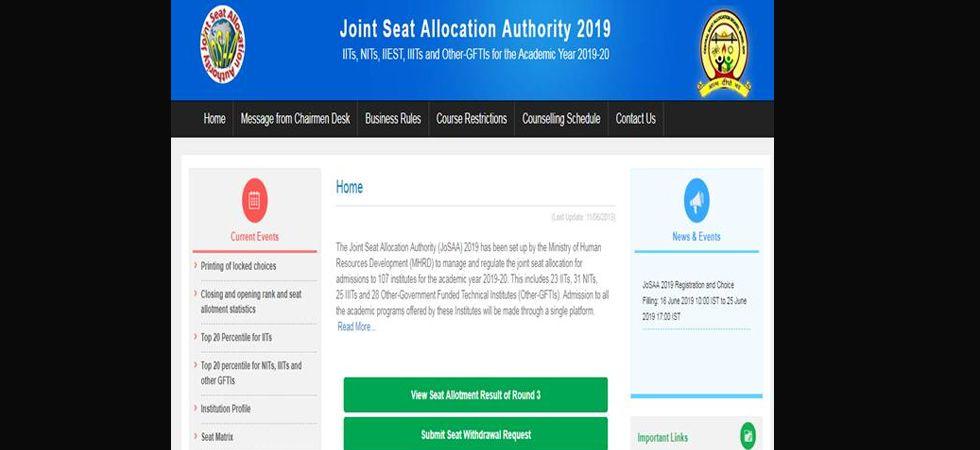 Joint Seat Allocation Authority (JoSAA)