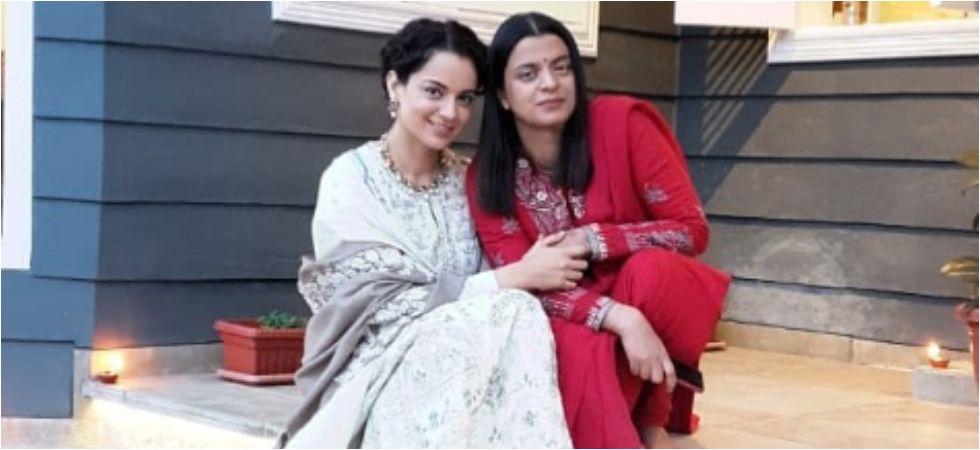 Kangana Ranaut and sister Rangoli Chandel. (Image: Instagram)