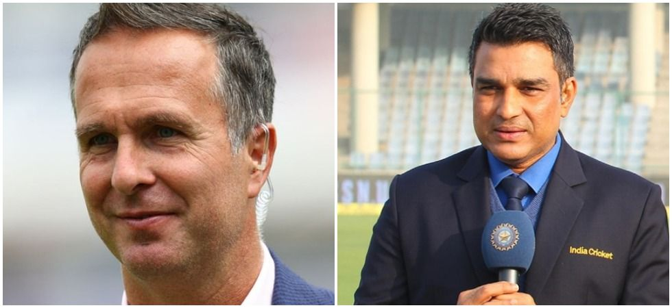 Sanjay Manjrekar and Michael Vaughan indulged in Twitter banter (Image Credit: Twitter)