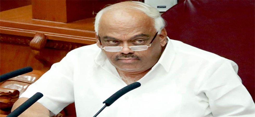 Karnataka Assembly Speaker Ramesh Kumar (File Photo)