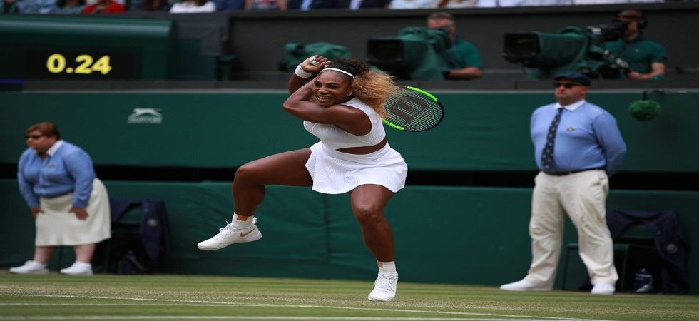 Serena Williams upstage Alison Riske to book yet another Wimbledon semi-final (Image Credit: Twitter)