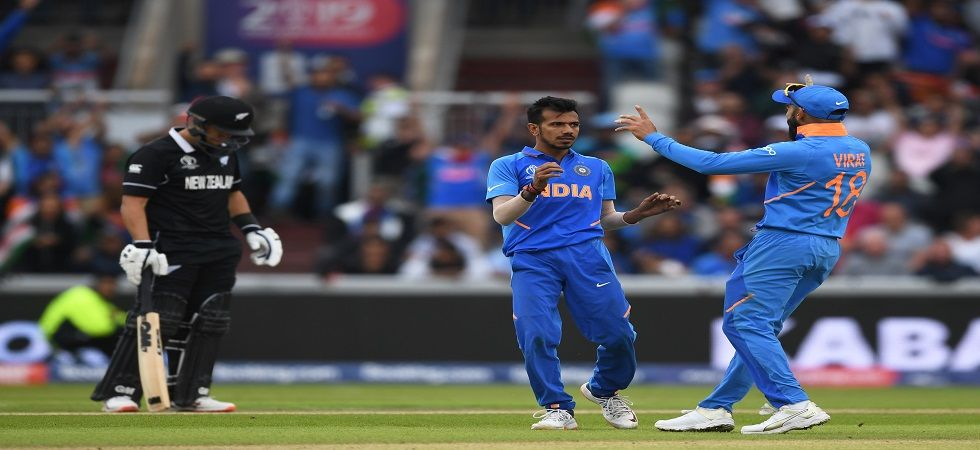 The semi-final between India and New Zealand will resume on the reserve day after rain played spoilsport. (Image credit: Getty Images)