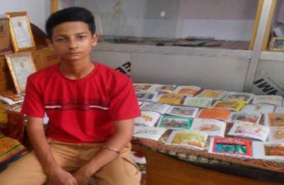 THIS 12-year-old has authored 135 books, biography on Yogi Adityanath