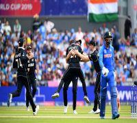 James Neesham's one-handed stunner off Dinesh Karthik boosts New Zealand in semi-final vs India