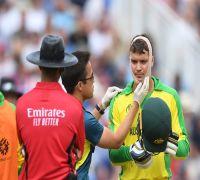 Twitter expressed concern over Alex Carey's injury blow
