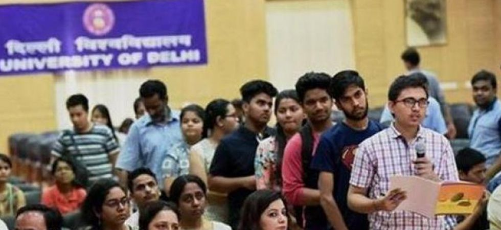 Delhi University released third cut-off list on Monday. (File Photo)