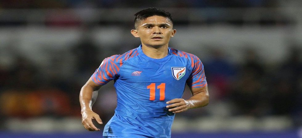 Sunil Chettri has netted second highest goals after Cristiano Ronaldo (Image Credit: Twitter)