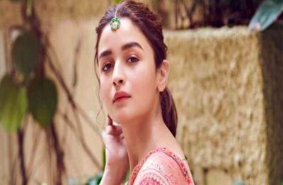 Sadak 2: Alia Bhatt records scratch version of a romantic song for father Mahesh Bhatt's film